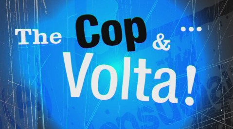 The cop & volta | Grafismos y careta