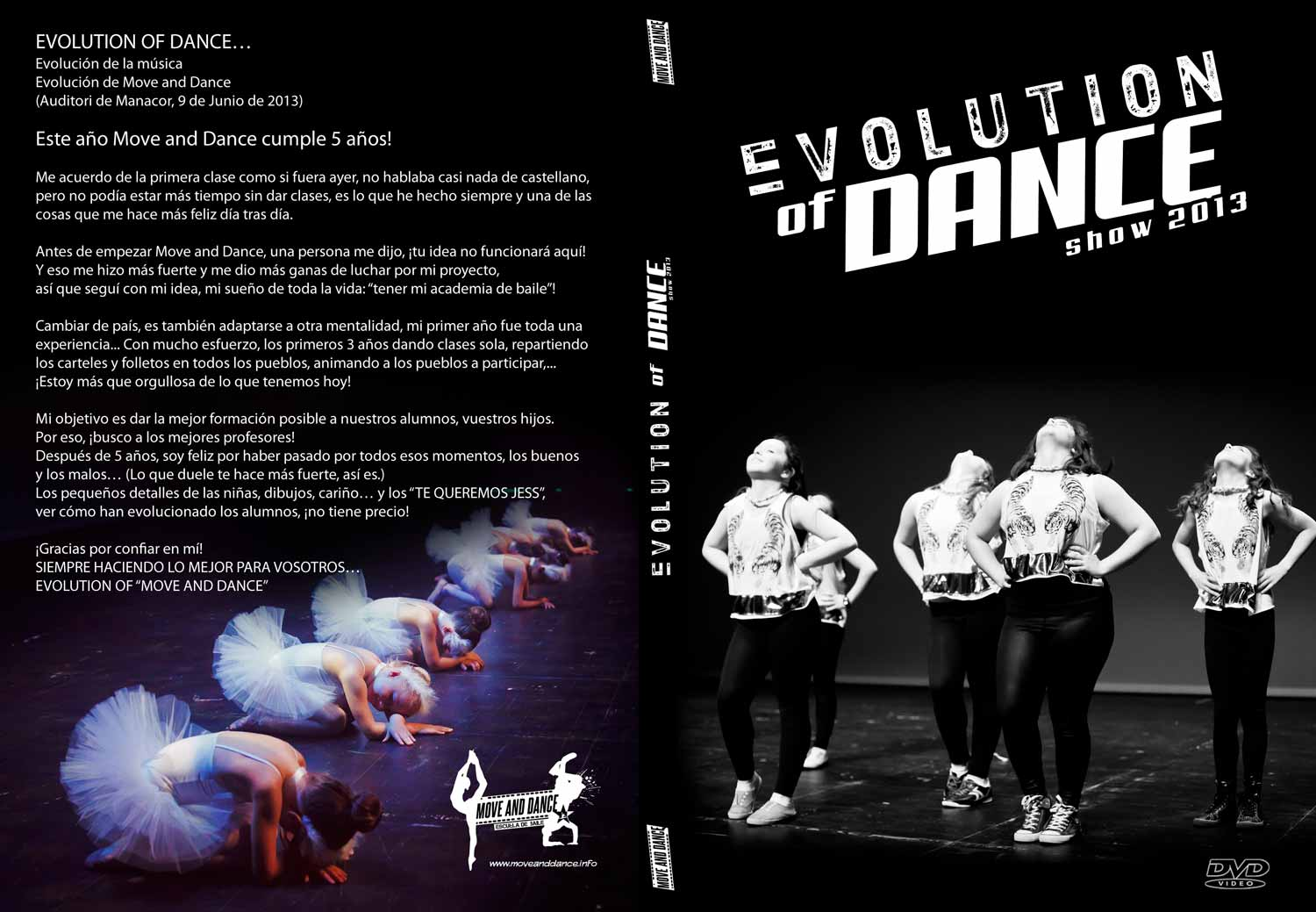 Evolution of Dance - Move and dance